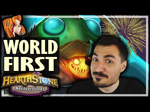 WORLD FIRST GOLDEN AMALGAM CURATOR?? - Hearthstone Battlegrounds