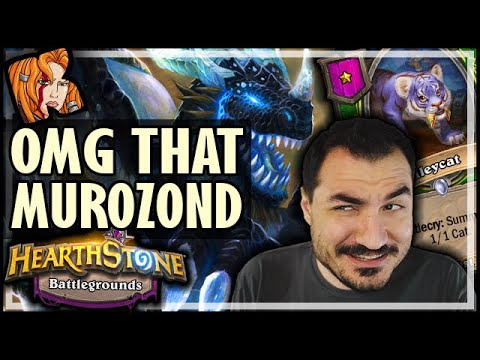 OMG THAT MUROZOND TRANSITION! - Hearthstone Battlegrounds