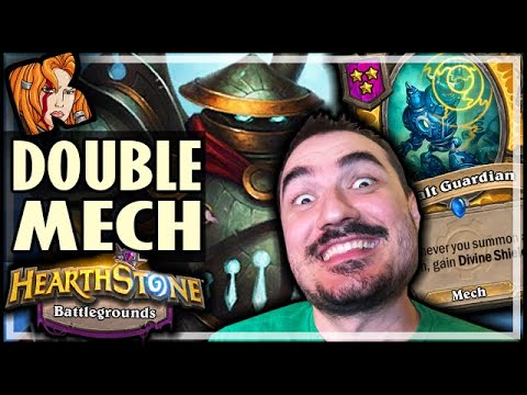 DOUBLE MECH-MENAGERIE WINS! - Hearthstone Battlegrounds