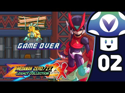 [Vinesauce] Vinny - Mega Man Zero/ZX Legacy Collection (PART 2)