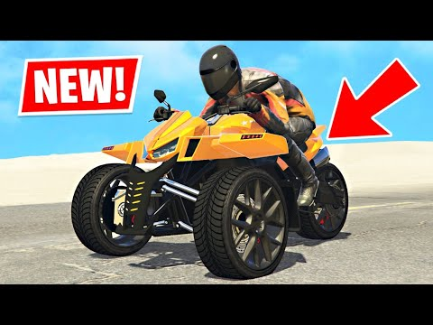 New 3 WHEEL BIKE in GTA 5! (NEW DLC)