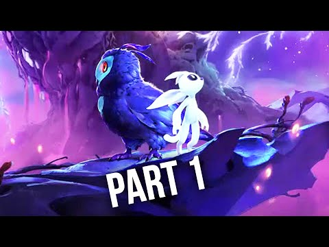 ORI AND THE WILL OF THE WISPS Gameplay Walkthrough Part 1 - ACT 1