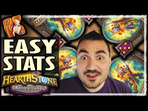 4 LIGHTFANGS = EASY STATS - Hearthstone Battlegrounds