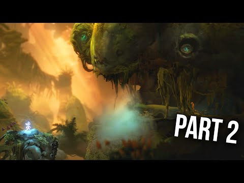 ORI AND THE WILL OF THE WISPS Gameplay Walkthrough Part 2 - EYE STONE
