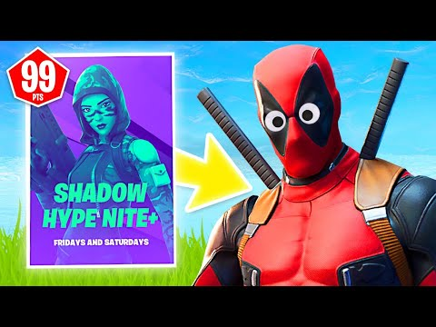 New SHADOW HYPE NITE+ Rewards LIVE! (Fortnite Battle Royale)