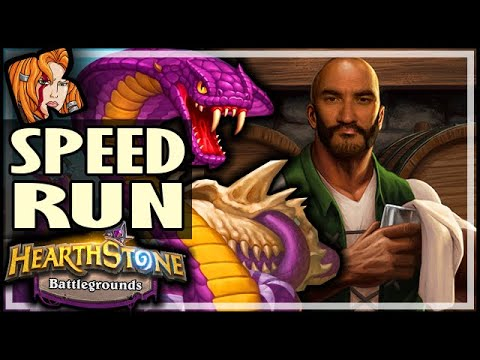 SPEEDRUN TO TAVERN 6! - Hearthstone Battlegrounds