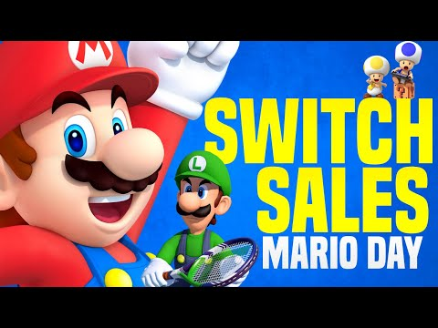 BEST Switch Sales and Nintendo Deals for Mario Day!