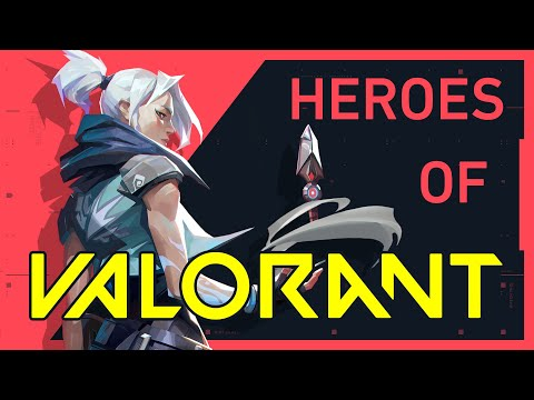 The Heroes of VALORANT | Riot Games' NEW Shooter