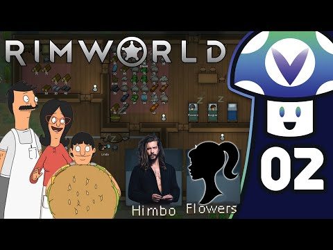 [Vinesauce] Vinny - RimWorld (PART 2)