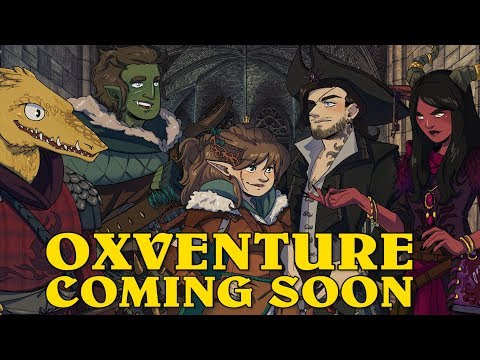 Oxventure Presents: EXHIBITION IMPOSSIBLE! New Dungeons & Dragons Oxventure Coming Soon