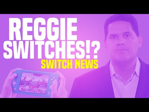 Reggie MAKES The Switch, Joins Gamestop!?