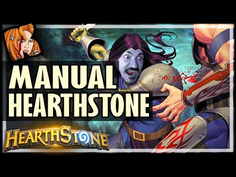I TRIED MANUAL HEARTHSTONE AGAIN! - Hearthstone Battlegrounds