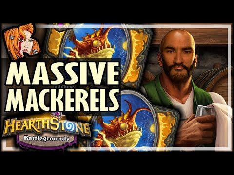 THE MASSIVE MACKERELS! - Hearthstone Battlegrounds