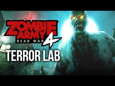 ZOMBIE ARMY 4 DEAD WAR - TERROR LAB DLC (All Collectibles)