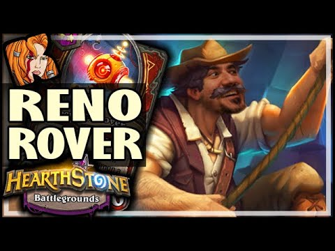 RENO SECURITY ROVER BUILD! - Hearthstone Battlegrounds