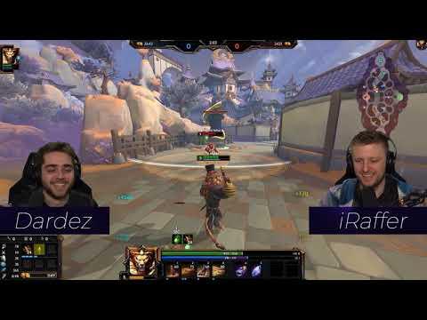 Gentleman Joust: Dardez vs iRaffer (Spacestation Gaming)