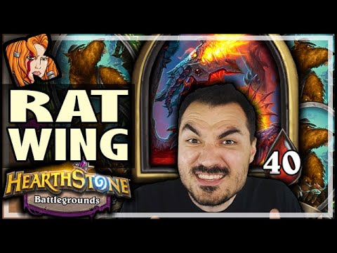 THEY ALL HATE RATWING! - Hearthstone Battlegrounds