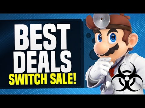 HUGE Nintendo Switch Quarantine Switch eShop Sale!