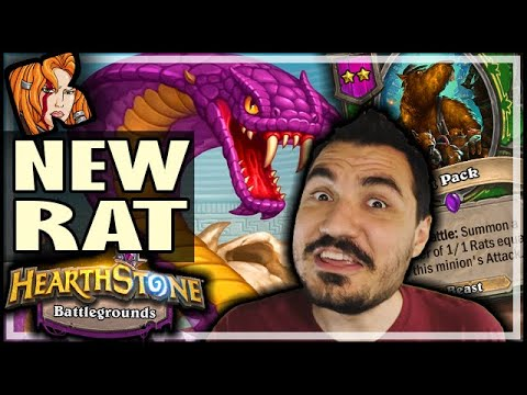 GHASTCOILER IS THE NEW RAT - Hearthstone Battlegrounds