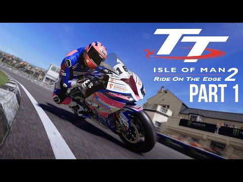 TT ISLE OF MAN Ride on the Edge 2 Career Mode Part 1 - First Bike