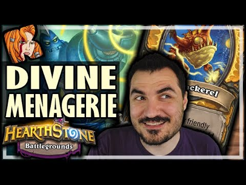 THE DIVINE MENAGERIE! - Hearthstone Battlegrounds