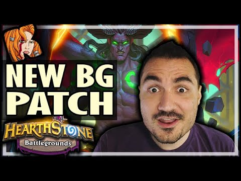 NEW BG MEGAPATCH REVIEW! - Hearthstone Battlegrounds