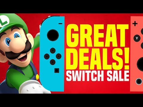 MASSIVE Nintendo Switch eShop Sale BEFORE Animal Crossing!