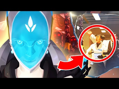 5 JUICY NEW Echo Lore Reveals | Overwatch