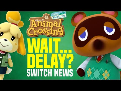 NEW Animal Crossing DELAYS New Horizon Pre-Orders!!!  We're GIVING Away Copies!