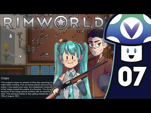 [Vinesauce] Vinny - RimWorld (PART 7)
