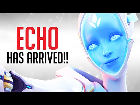 Overwatch: NEW Hero Echo Gameplay - All Abilities Breakdown