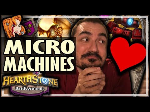 I STILL LOVE MY MICROMACHINES! - Hearthstone Battlegrounds