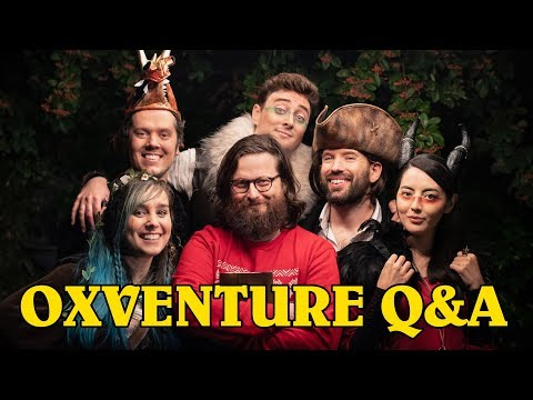 Oxventure Q&A! Pre-Show Oxventure D&D Chat with Mike, Jane and Andy