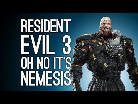 Resident Evil 3 Remake: NEMESIS NOO! (Let's Play Resident Evil 3 Remake Demo on Xbox One)