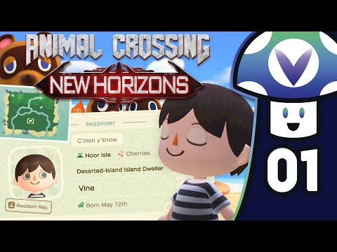 [Vinesauce] Vinny - Animal Crossing: New Horizons (PART 1)