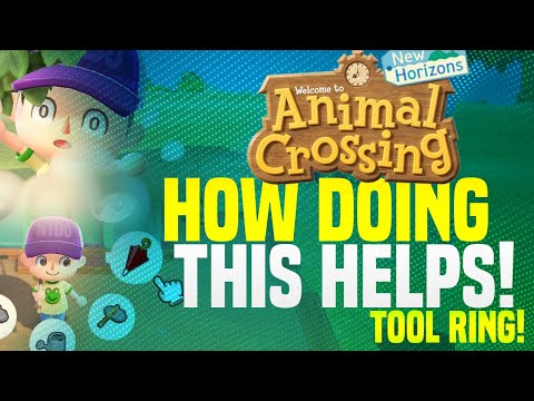 How To Get AWESOME UPGRADE Early + Fast in Animal Crossing New Horizons! (Tool Ring Guide + Tips!)