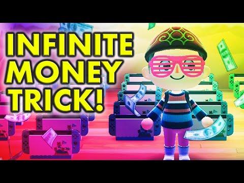 💰INFINITE MONEY GLITCH💰 Animal Crossing New Horizons Infinite Money Trick!