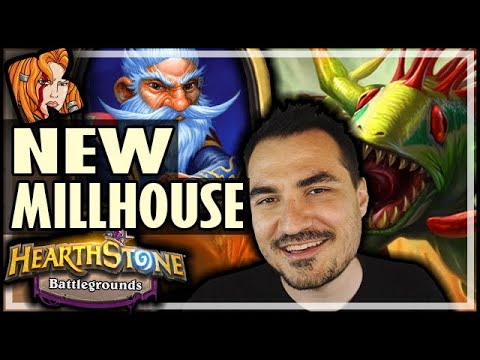 NEW MILLHOUSE CAN ACTUALLY WIN?! - Hearthstone Battlegrounds