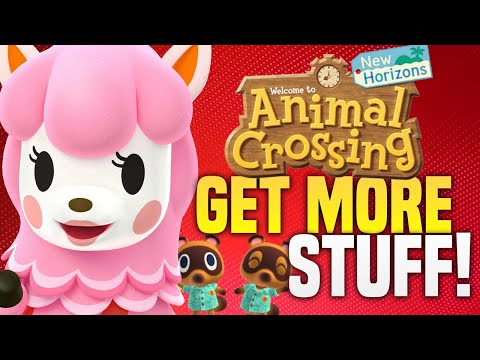TOP 9 Ways To GET MORE Stuff in Animal Crossing New Horizons!