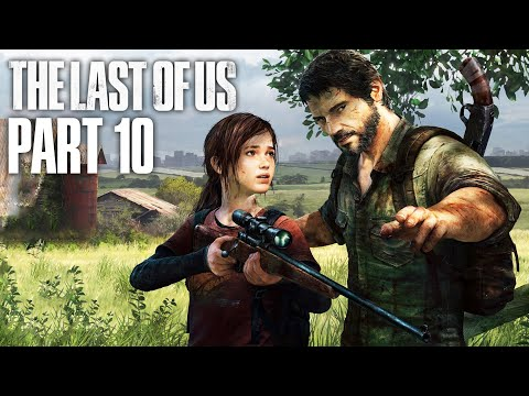 THE LAST OF US Gameplay Walkthrough Part 10 - SCARY SEWERS