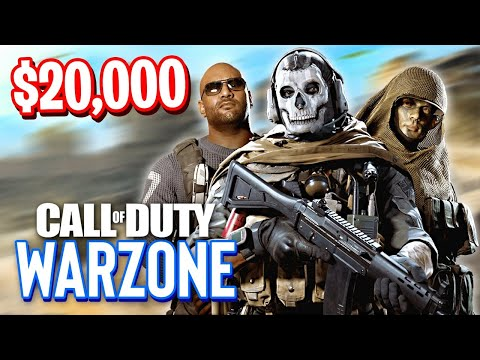 Warzone $20,000 Tournament! (Call of Duty Warzone)