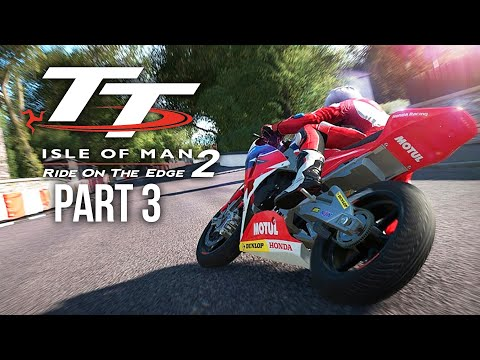 TT ISLE OF MAN Ride on the Edge 2 Career Mode Part 3 - TT IS SCARY