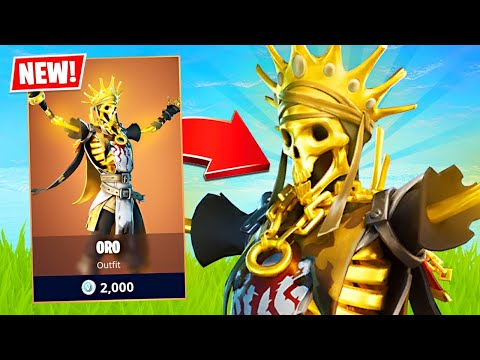 New Legendary ORO Skin + Challenges! (Fortnite Battle Royale)