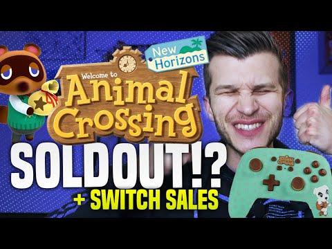 New Animal Crossing Stuff SOLD OUT?! Cheap Switch Sales + Rare Accessories!
