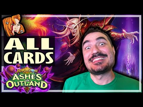 ASHES OF OUTLAND FULL CARD REVIEW! - Hearthstone