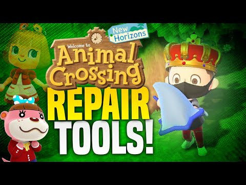Star Tier Tools + How To Repair Tools in Animal Crossing New Horizons!