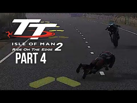 TT ISLE OF MAN Ride on the Edge 2 Career Mode Part 4 - I KEEP FALLING OFF