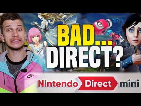 Was The NEW Nintendo Direct Bad?! Nintendo Has New Switch Games Coming, Here's WHY!