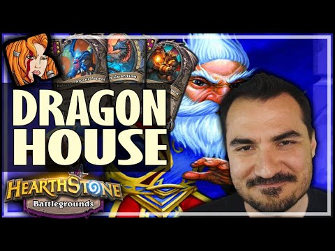 MEET DRAGON-HOUSE! - Hearthstone Battlegrounds