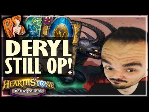 DIVINE DERYL = STILL OP! - Hearthstone Battlegrounds